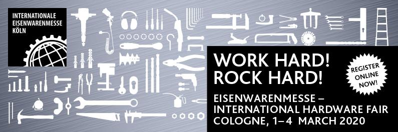 EISENWARENMESSE - International Hardware Fair Cologne