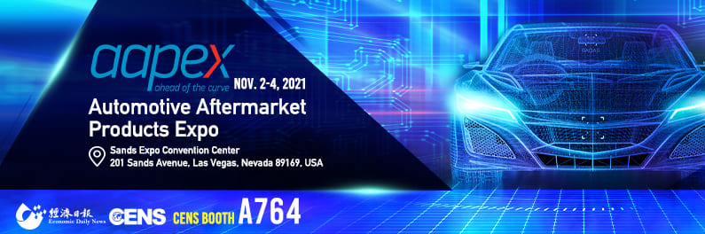 AAPEX NOVEMBER 2━4, 2021 CENS BOOTH