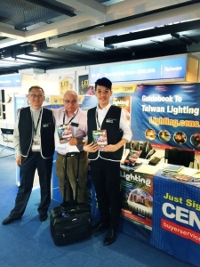 Cens.com Lighting Up Biz at Hong Kong International Outdoor and Tech Light...