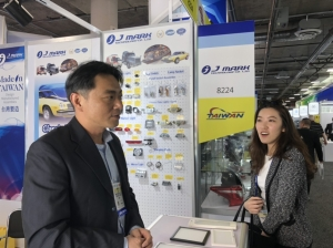 Cens.com Taiwan Exhibitors Talk Biz with LA Office at AAPEX