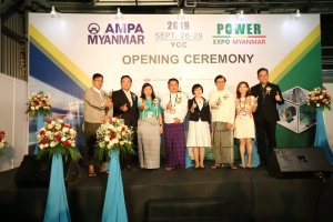 Cens.com Grand Opening of AMPA and Power EXPO Myanmar