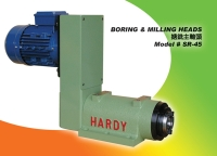Milling spindle, Machining Spindle head