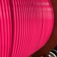1/8 PTFE Stainless Stell Braided brake hose - Pink