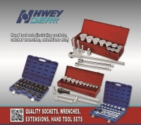 Cens.com HWEY DER INDUSTRIAL CO., LTD. Auto repair tool sets, Socket wrench sets