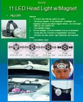Cens.com HIEVER CO., LTD. LED Headlight w/Magnet