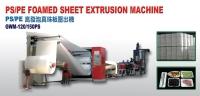 Cens.com GUAN WEI MACHINERY CO., LTD. PS / PE Foamed Sheet Extrusion Machine