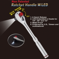 Cens.com JAN MING HAND TOOL CO., LTD. Ratchet Handle W/LED