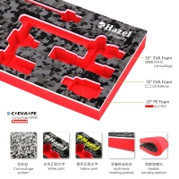 Cens.com BEST FRIEND ENTERPRISE CO., LTD. Camouflage EVA Foam Tray for Tools