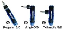 Cens.com BOA CHENG INDUSTRIAL CO., LTD. 3 WAY T-HANDLE RATCHET SCREWDRIVER