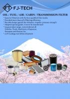Cens.com FUJITECH MOTOR PARTS CO., LTD. OIL FILTER (FILTER FACTORY)