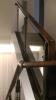 木质不锈钢玻璃立柱楼梯扶手