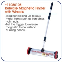 Release Magnetic Finder With Wheels