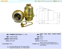 Cens.com GOLO CHANG CO., LTD. E26 pull chain Lampholder