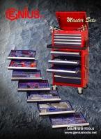 Cens.com GENIUS TOOLS (TIAN FU INDUSTRIAL CO., LTD.) Master Sets/Tool Trolley Set