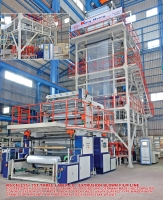 Cens.com KUNG HSING PLASTIC MACHINERY CO., LTD. Three Layer Co-Extrusion Blown Film Line