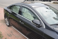 Cens.com HSIN YI CHANG INDUSTRY CO., LTD. Window Visor , window Deflector, Rain Guard with chrome molding, sunvisor