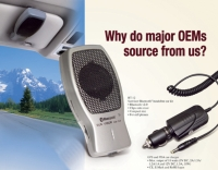 Sunvisor Bluetooth (Handsfee Car Kit) / GPS and PDA Car Charger