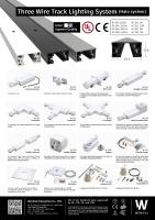 Cens.com WEN HUI ENTERPRISE CO., LTD. Three wired track lighting system (Halo system)