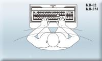 Cens.com 广通五金兴业有限公司 符合人体工学设计桌下型   电脑键盘抽屉