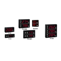 Large-Scale LED Temperature & Humidity Display