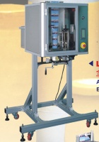 AUTO. EASY TYPE LABEL/ TAMPER-EVIDENT SLEEVING MACHINE